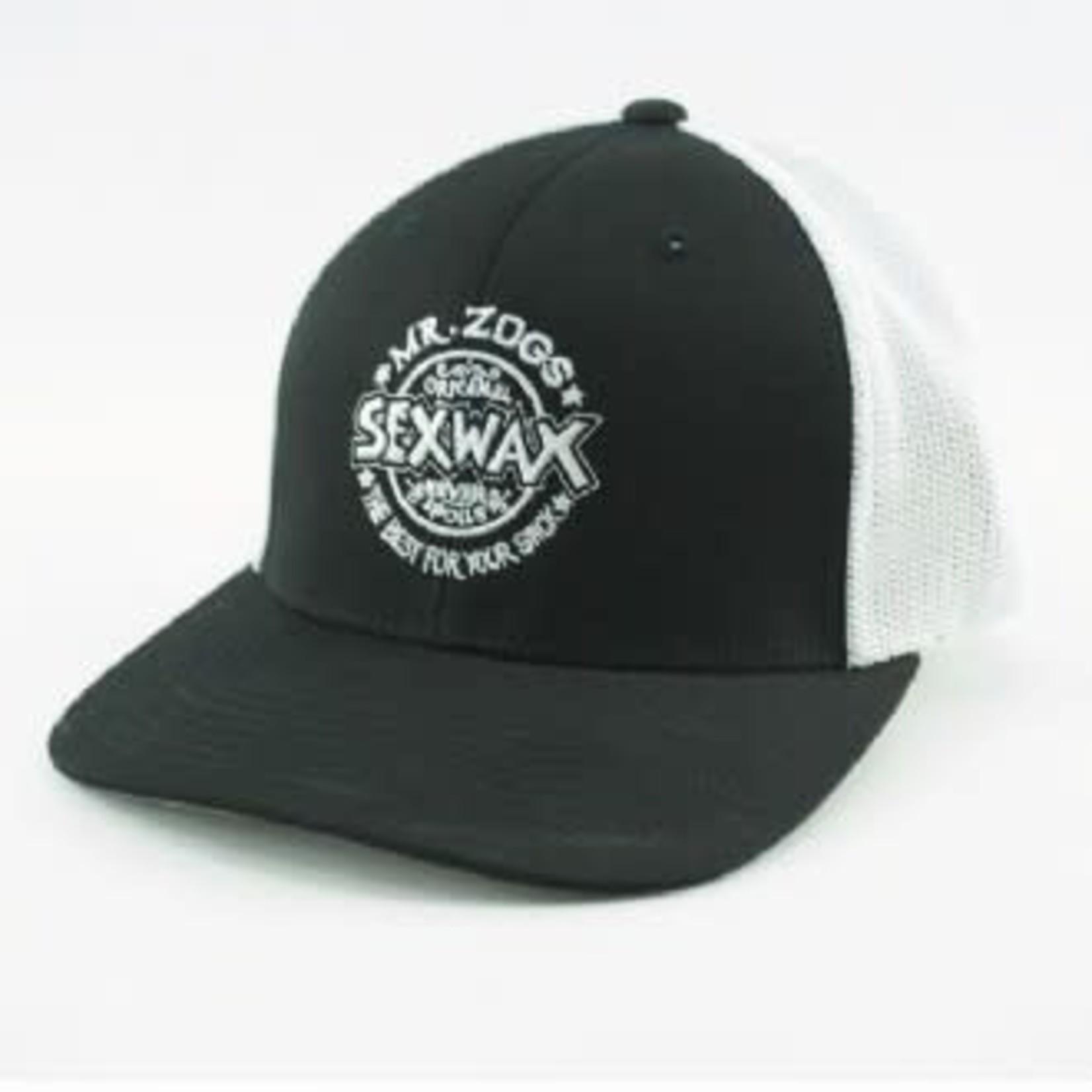 SEX WAX SEX WAX Classic Logo Mesh Back Trucker Hat