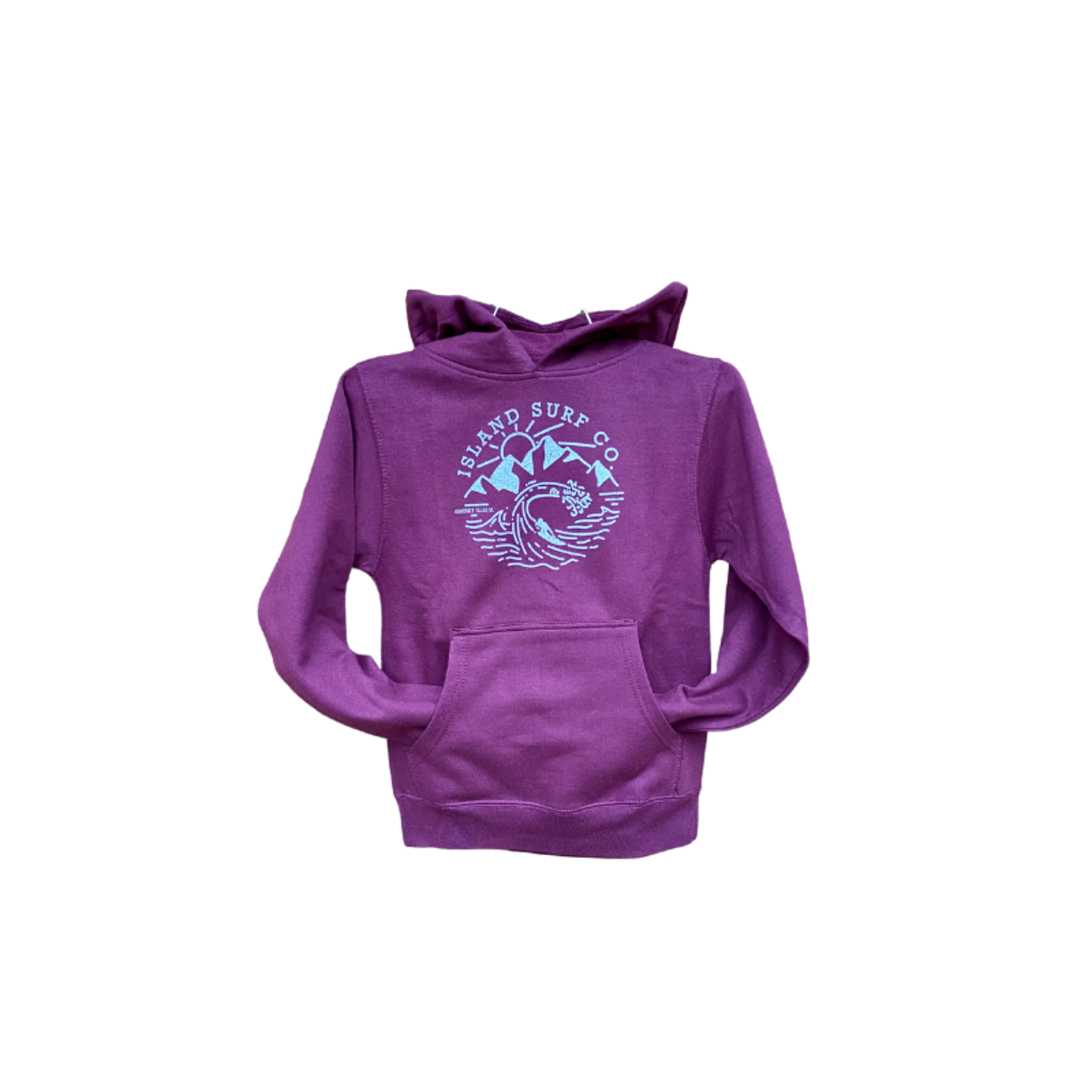 Island Surf Company West Coast Youth Hoody.