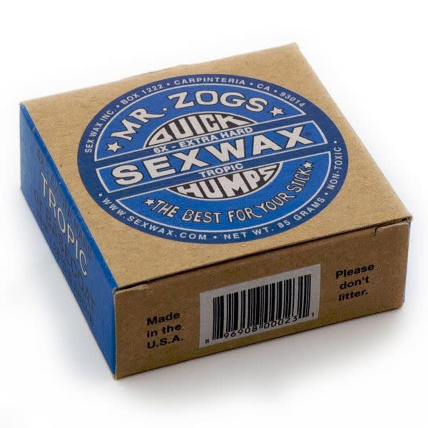 SEX WAX Sex Wax Mr. Zog's Quick Humps Surfboard Wax.