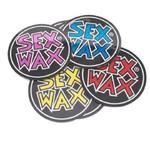"SEX WAX SEX WAX Diecut Circle  Sticker 3"""