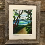 "Yvonne Acheson ""Trail To Wickaninish"" Medium Framed Print"