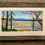 "Yvonne Acheson ""Rathtrevor Beach"" Large Framed Print"