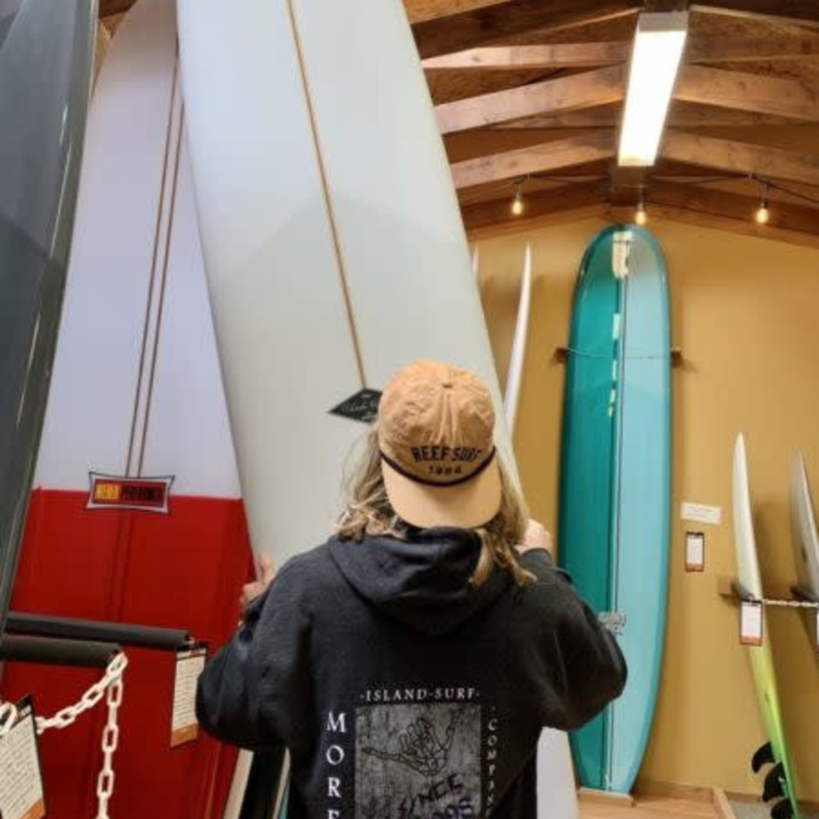 Island Surf Company Shaka Bones Island Surf Co Hoody by: Independent.