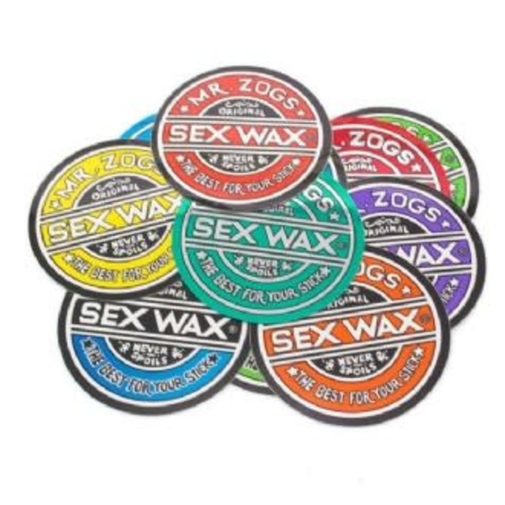 """SEX WAX SEX WAX Circle Sticker 3"""""""