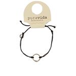 Puravida Silver Circle Bracelet
