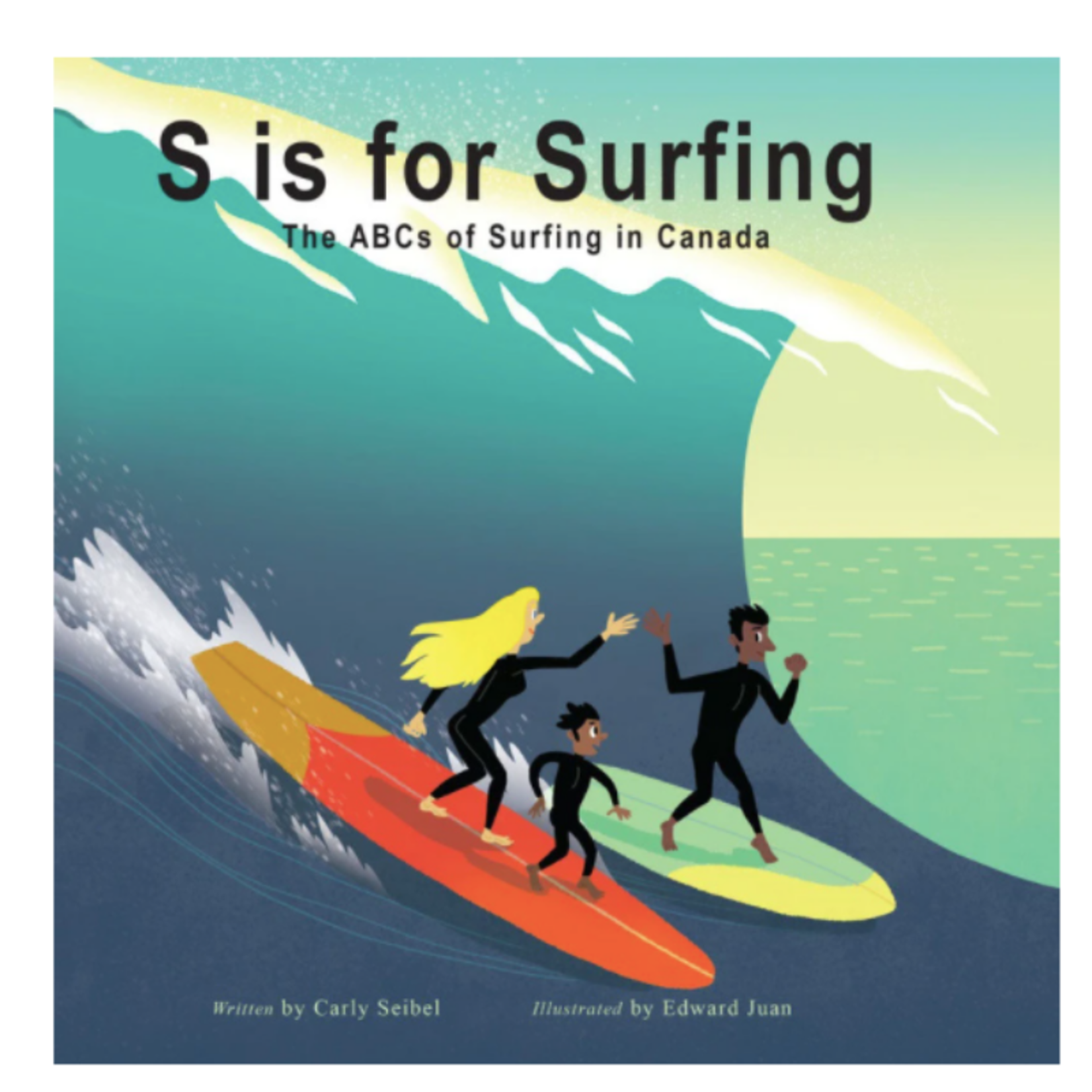Local S Is for Surfing - Kids Novel