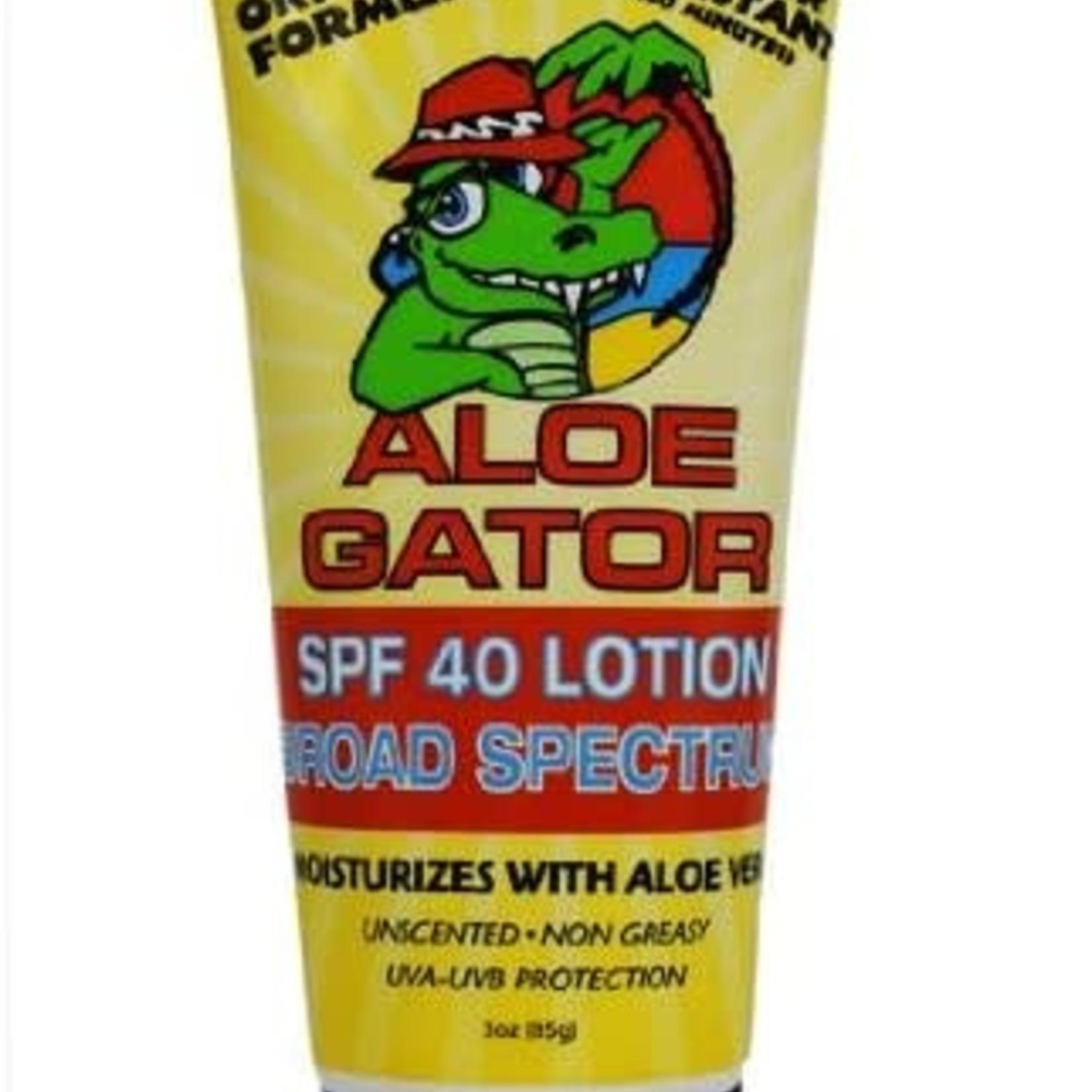 Aloe Gator 40+ Sunscreen