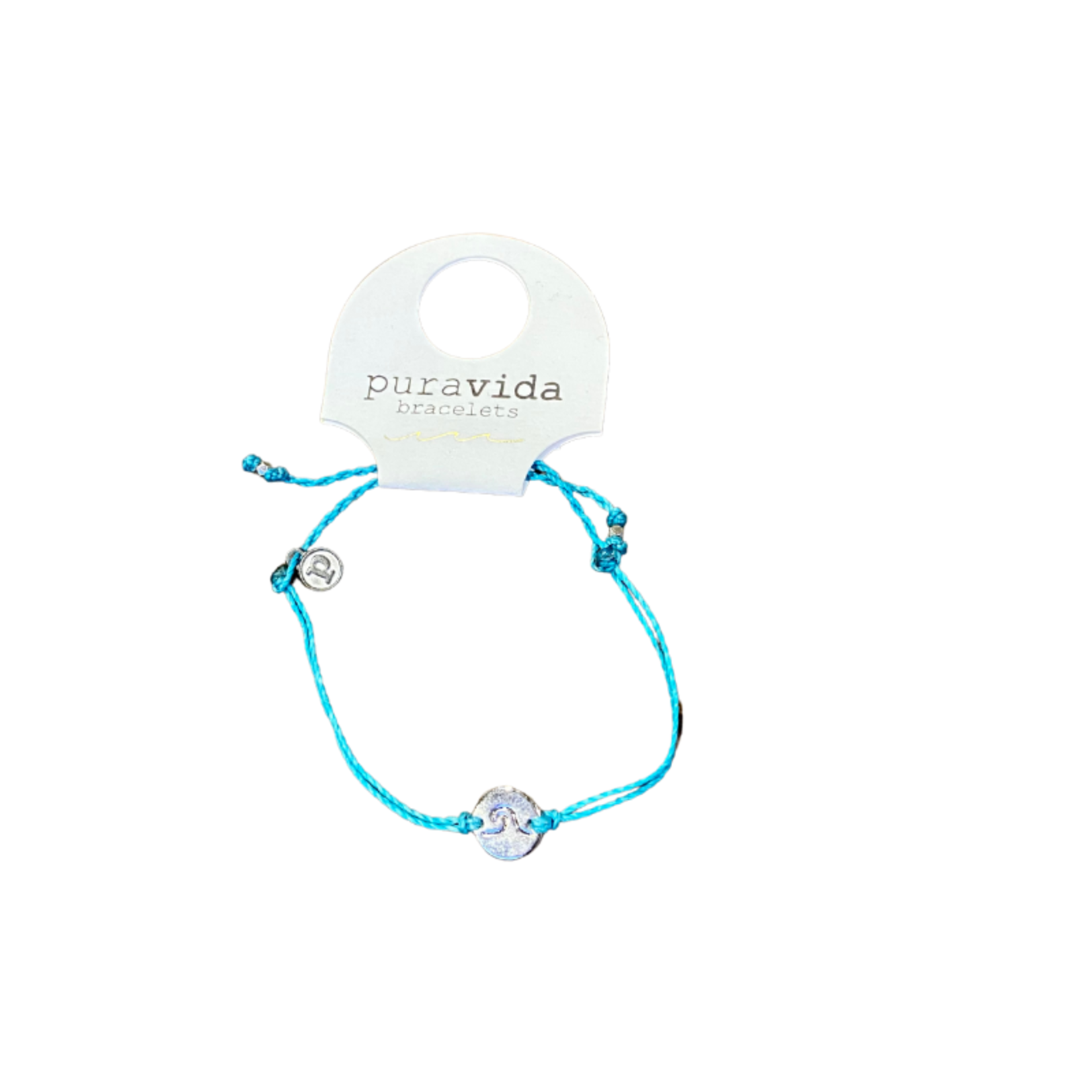 Pura Vida Jewelry Puravida Wave coin bracelet silver