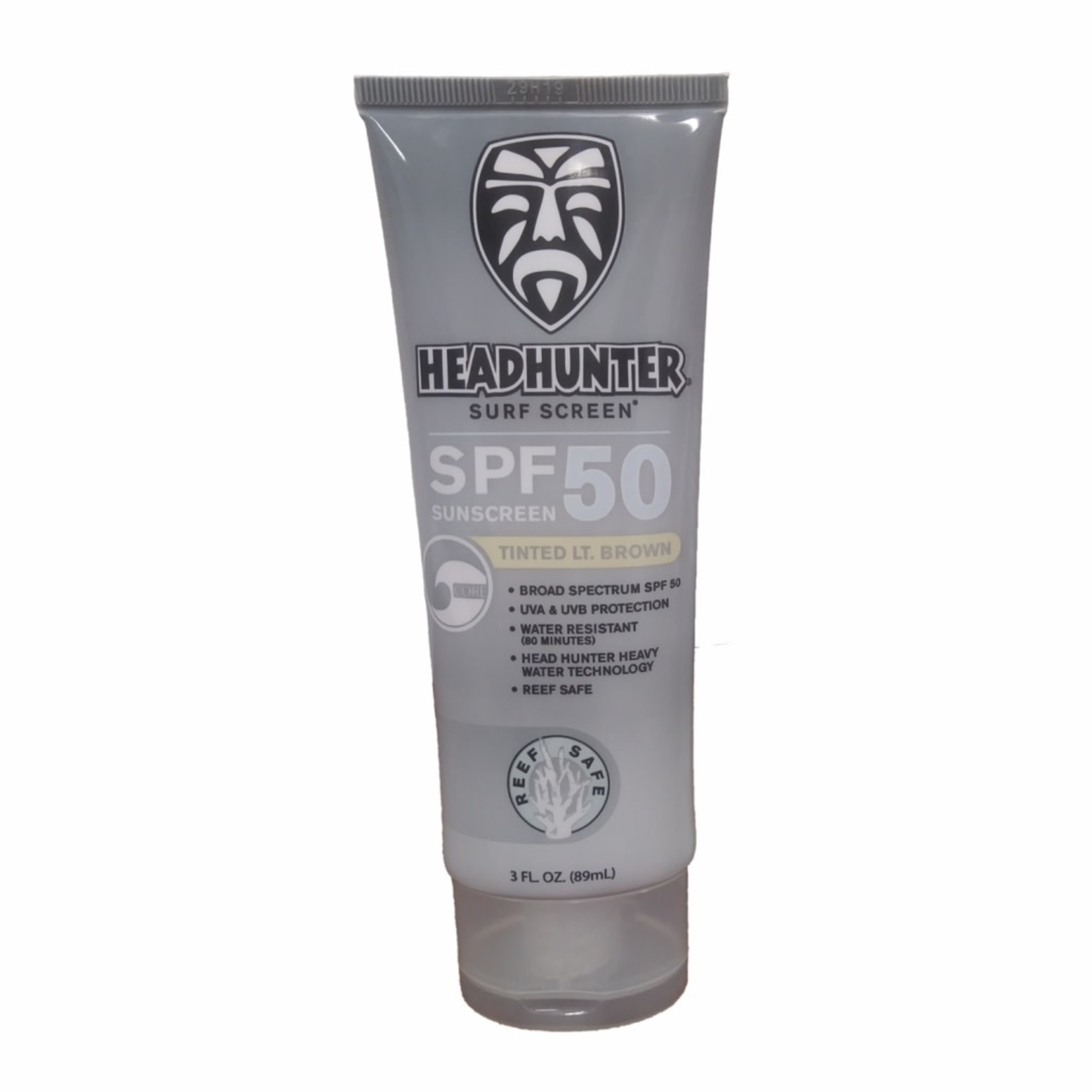 Headhunter Headhunter Surf Screen SPF 50 Lt. Brown Reef Safe Sunscreen