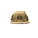Island Surf Company ISC Shaka Flat Panel Hat Army Green