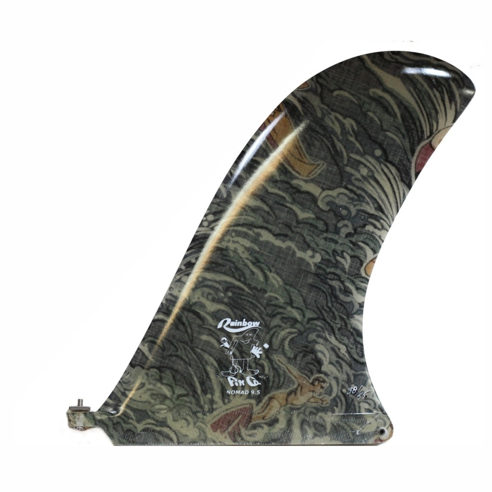 Rainbow Fin Nomad Traveller Series 9.5 Collector