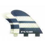 FCS FCS V2 Tri-Quad Fin (Set of 5) Med