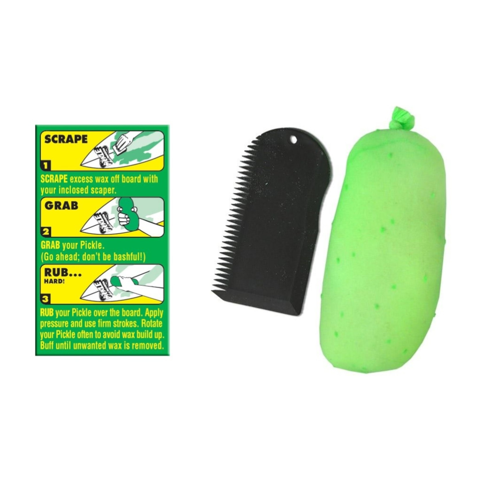 Pickle Wax Remover by Team Chow Hawaii
