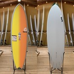 TORQ Surfboards 6'6 Torq TET Full Fade Sunset Mod Fish