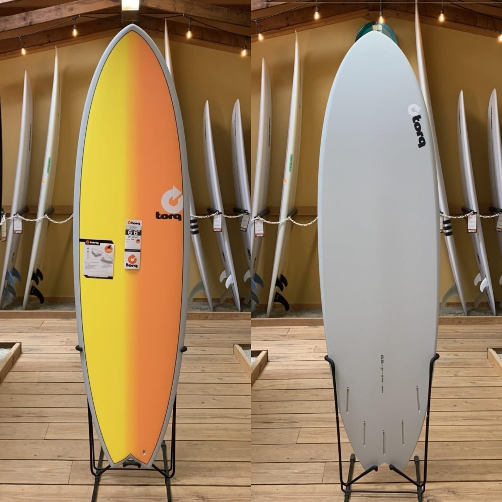 TORQ Surfboards 6'6 Torq TET Full Fade Sunset Mod Fish