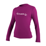 O'Neill O'Neill Women's LS Rash guard Fox Pink.