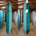 "Island Surf Company 10'2 Island Surf Company Art Series ""Slow Moe"" Single Fin Longboard."