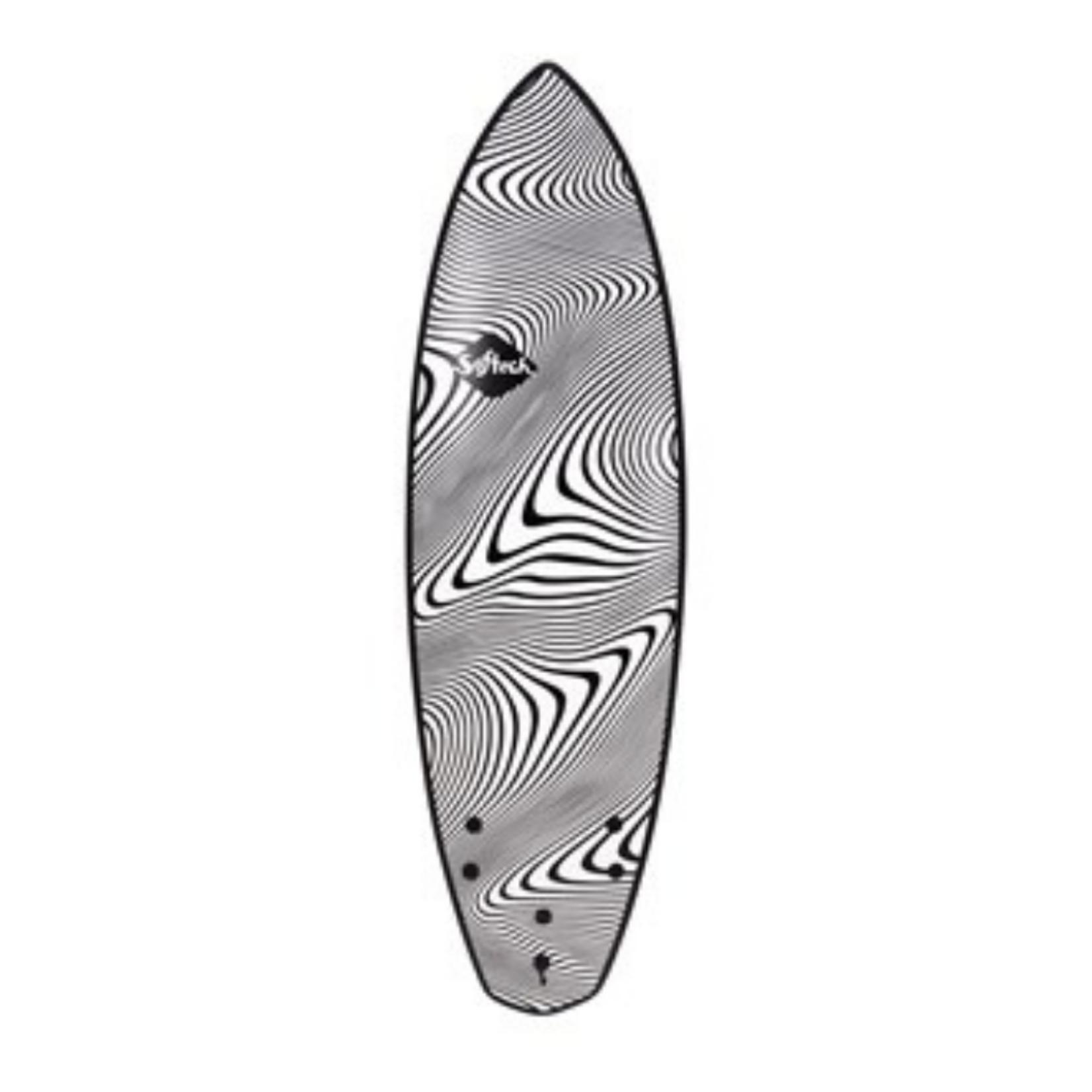 Softech Surfboards 5'11 Softech Toledo Wildfire Package
