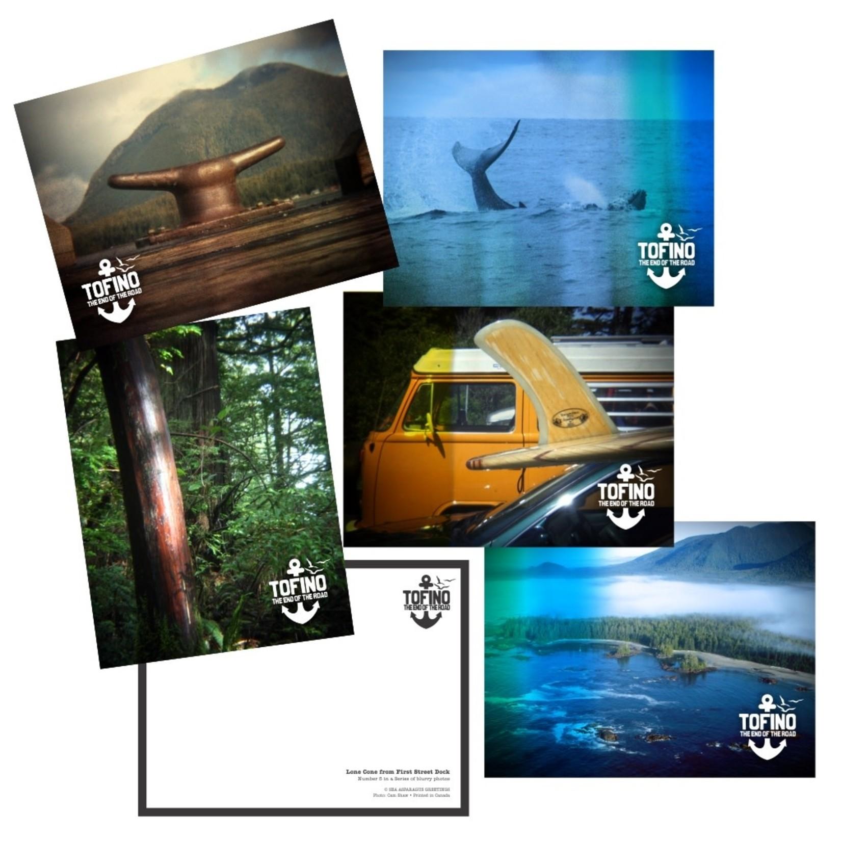 Tofino: End of the Road (5) Postcard Set - Series 1
