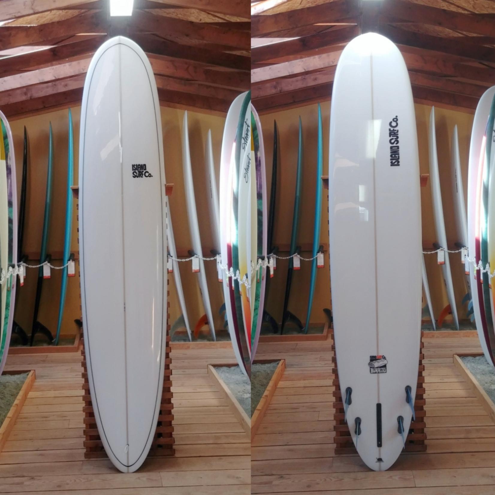 Island Surf Company 9'2 Island Surf Company Burrito Longboard (Gloss with Pinline).