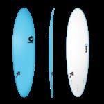 TORQ Surfboards Prebook Torq Wide White Blue/White 7'0 SoftDeck