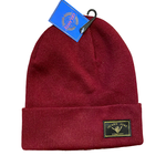 Island Surf Co Acrylic Beanie Burgundy