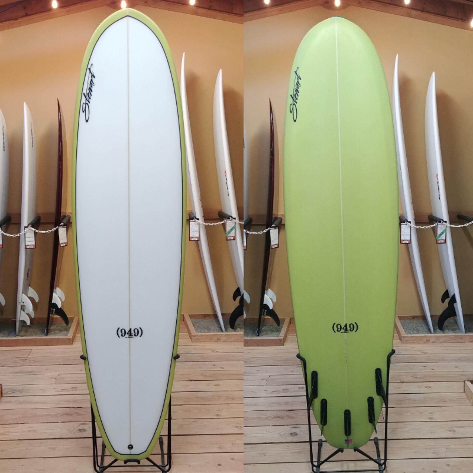 Stewart Surfboards 7'0 Stewart (949) Yellow Rail.