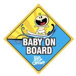 Island Surf Company Island Surf Company Baby on Board Sticker