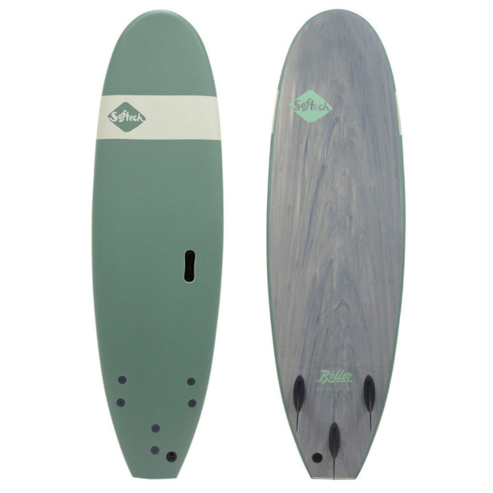 Softech Surfboards Softec Roller 7'6 Smoke Green