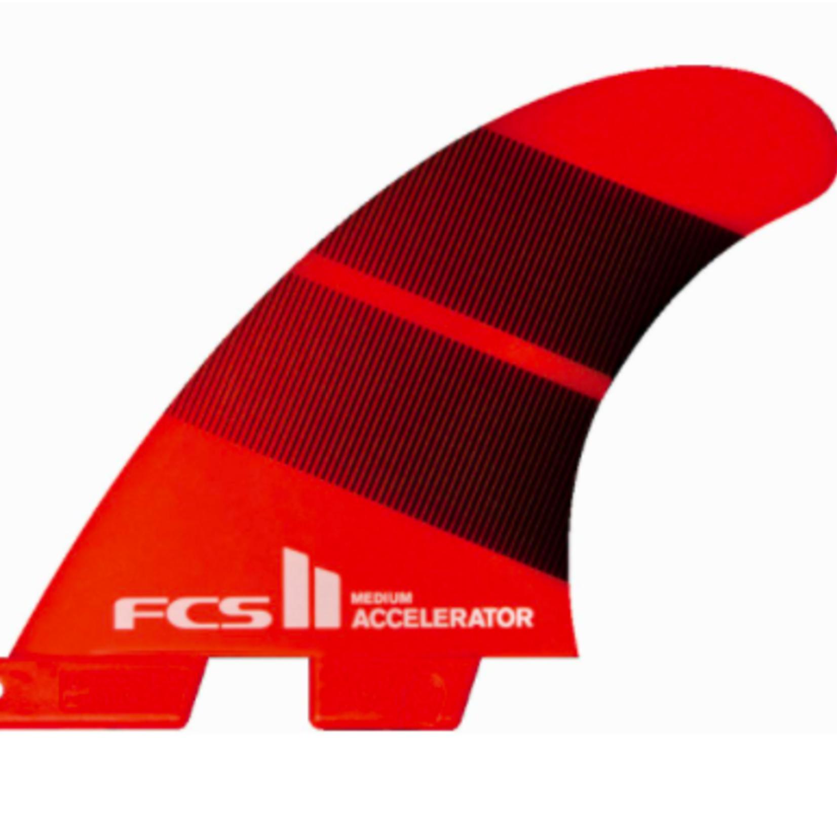 FCS FCS II Accelerator Neo Glass Tang Gradient Tri Fins.