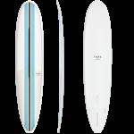 TORQ Surfboards 9'0 Torq TET Vortex Blue Stripes Longboard