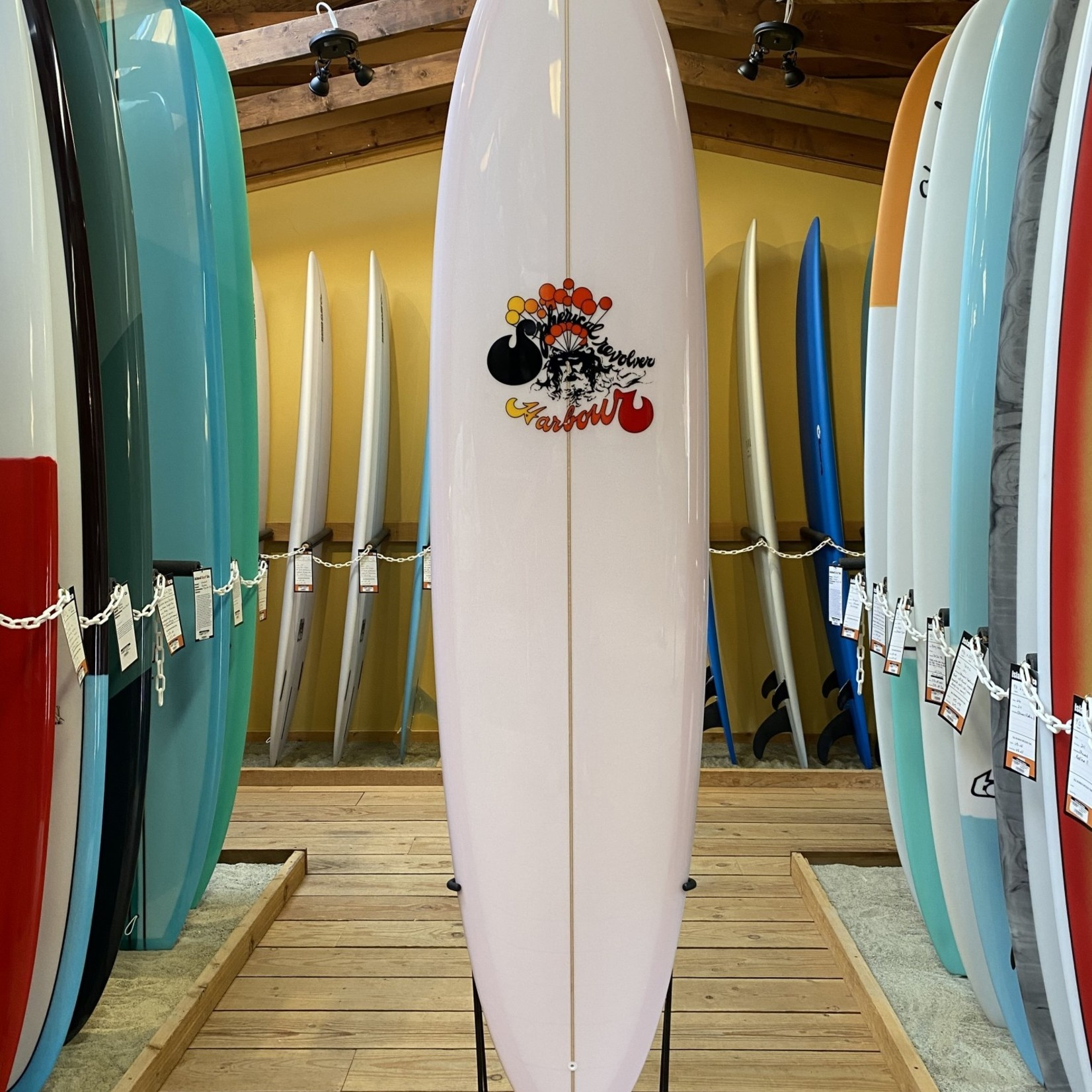 Harbour Surfboards 8'0 Harbour Spherical Revolver