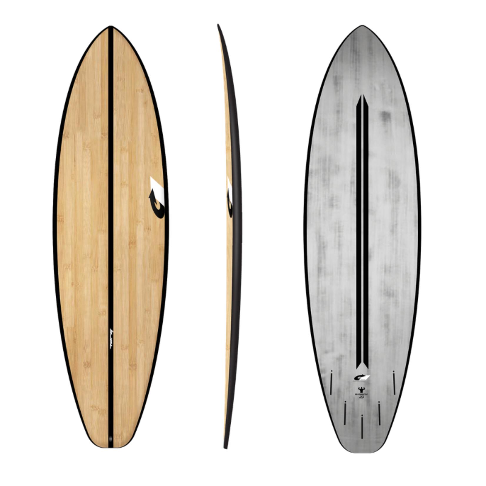 TORQ Surfboards 6'10 Torq ACT Big Boy Bamboo Black
