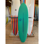 TORQ Surfboards 6'4 Torq GO Green/White Soft Deck