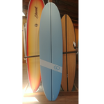 TORQ Surfboards 8'0 Torq GO Wide White Blue/White SoftDeck
