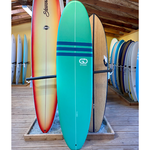 TORQ Surfboards 7'6 Torq GO Wide White Green/White SoftDeck