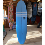 TORQ Surfboards 7'0 Torq GO Wide White Blue/White  SoftDeck