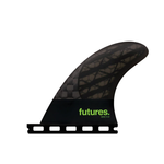Futures. Futures Fins Quad Rear 4.0 Medium Green