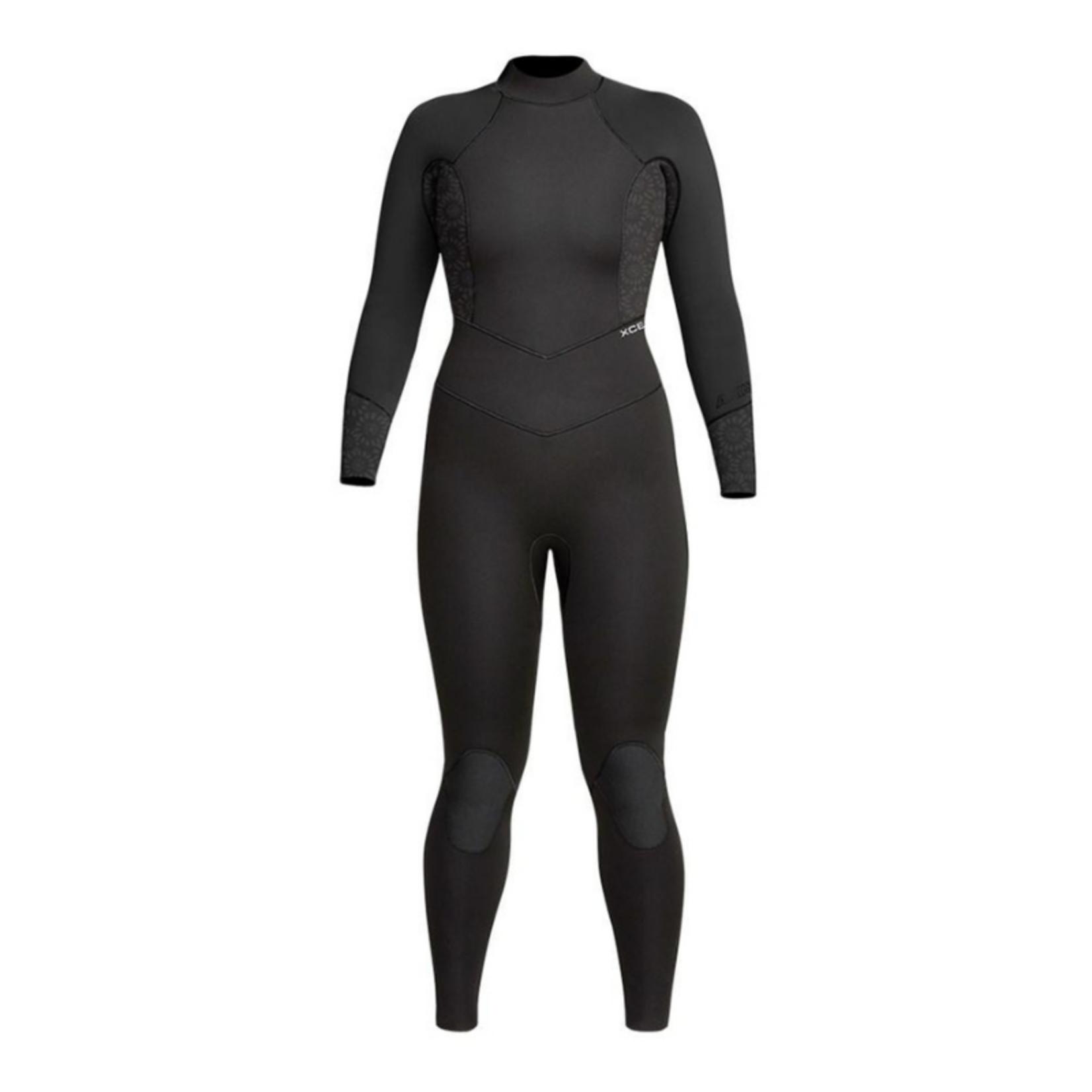 XCEL XCEL Women's Axis 4/3mm Back Zip Wetsuit.