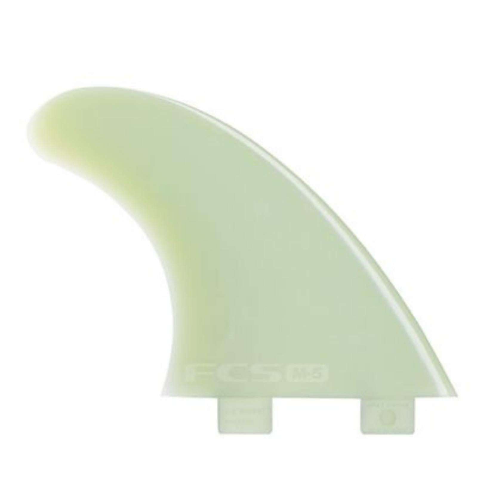 FCS FCS Natural Glass Flex Thruster Tri Fin Set
