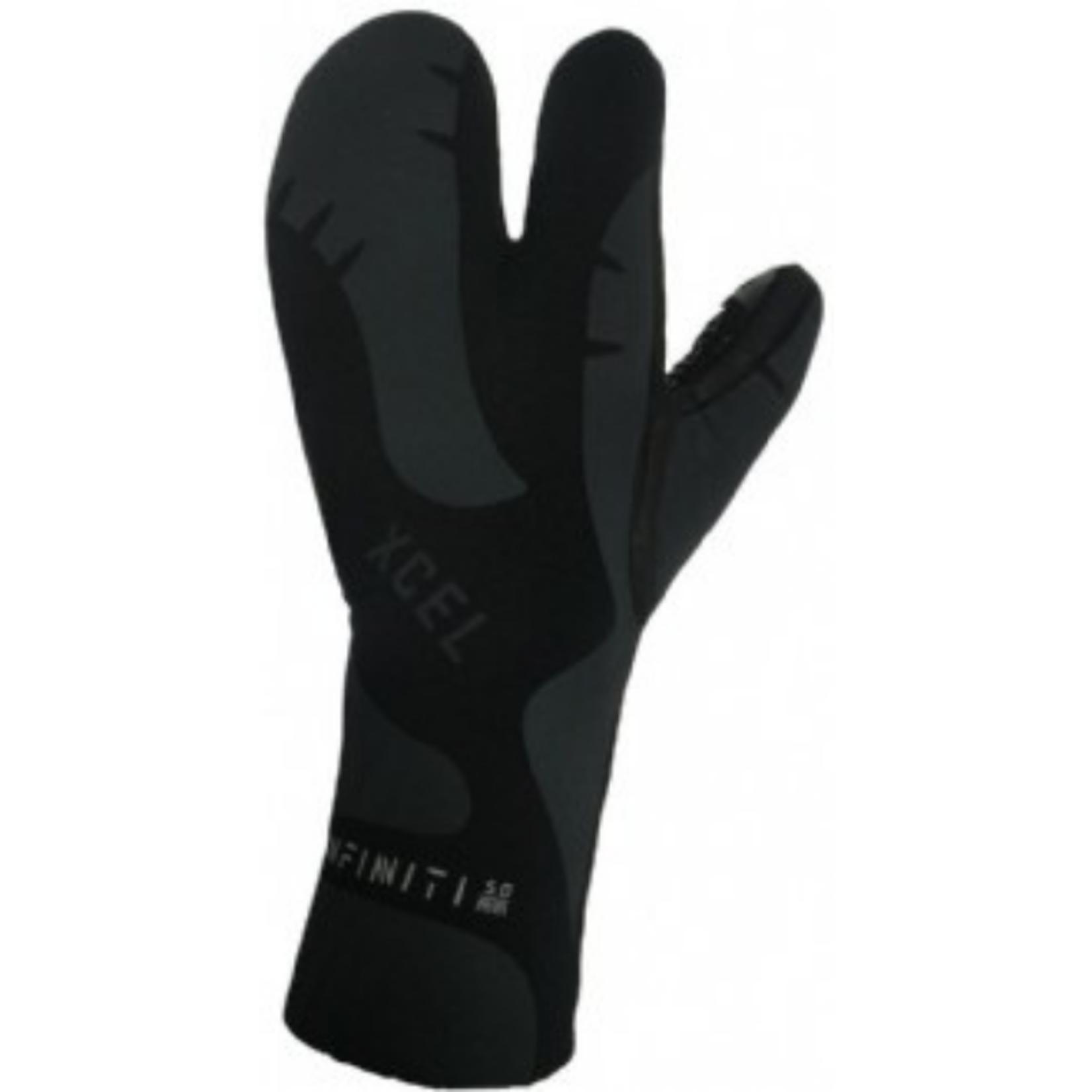 XCEL XCEL Infiniti 3-Finger Glove 5mm Lobster Claw.