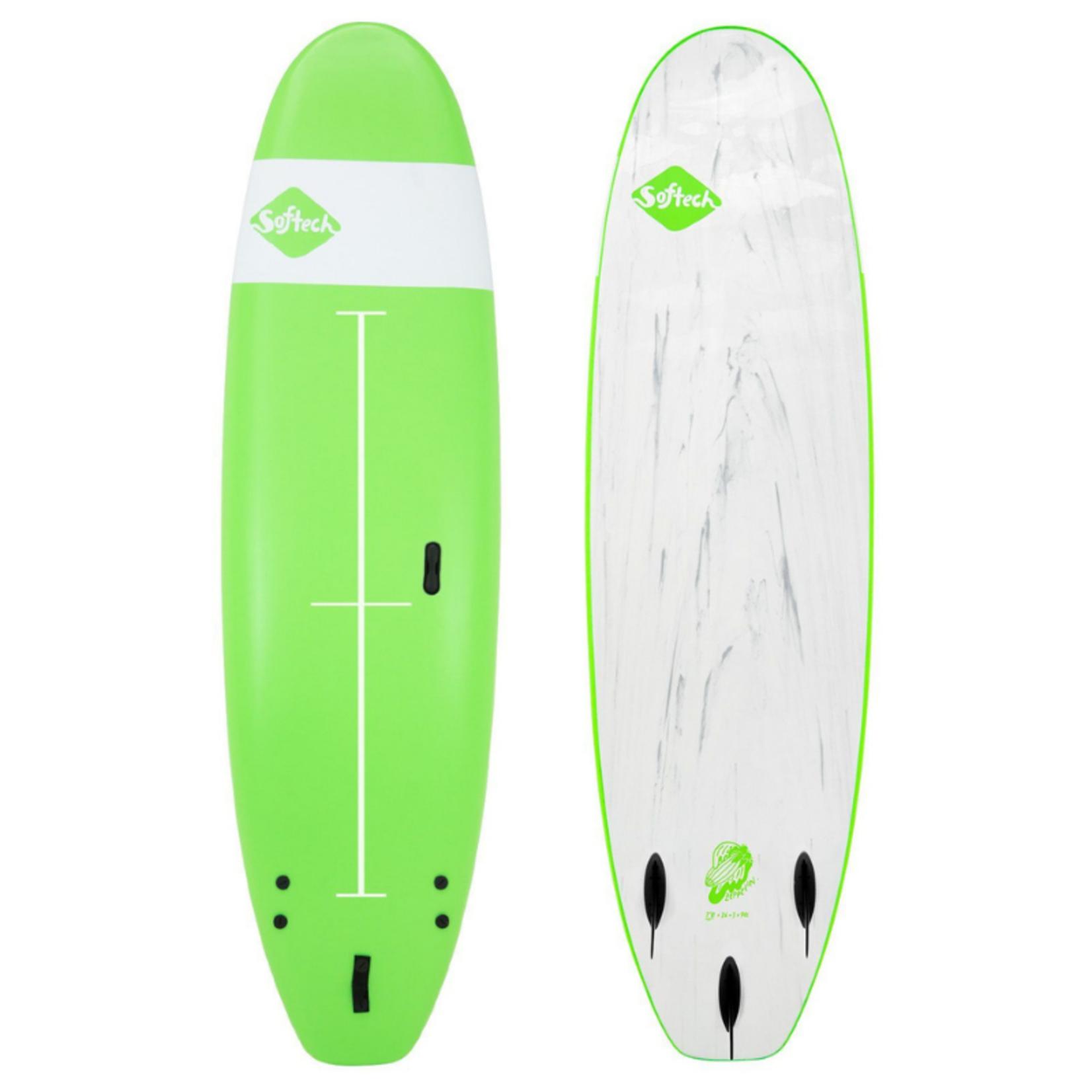 Softech Surfboards 8'0 Softech Zeppelin Green