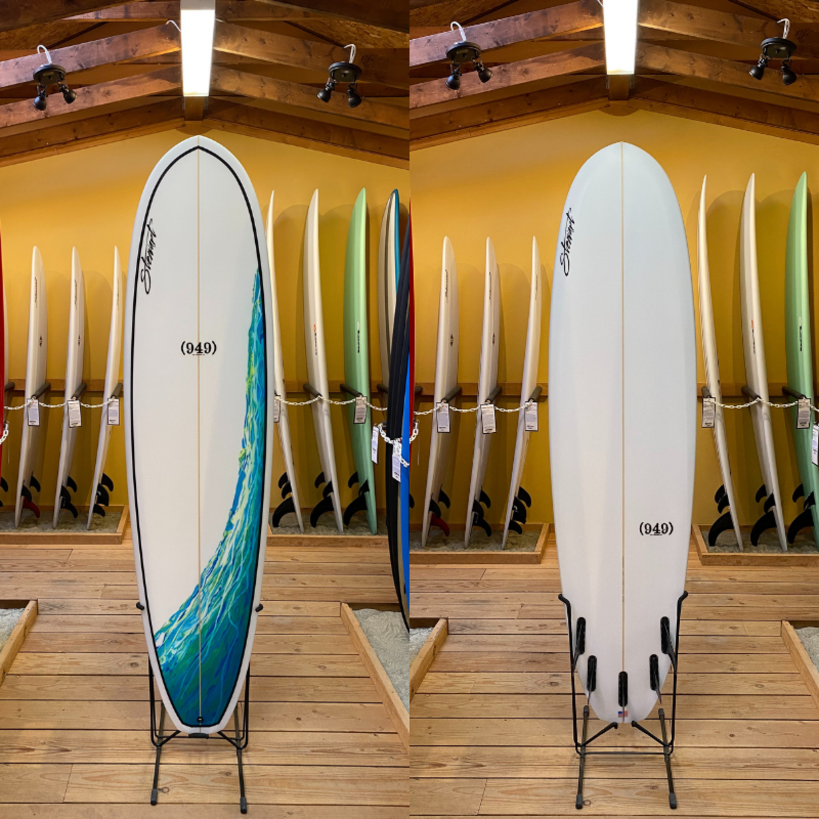 Stewart Surfboards 7'4 Stewart (949) Performance Surfboard #120193*