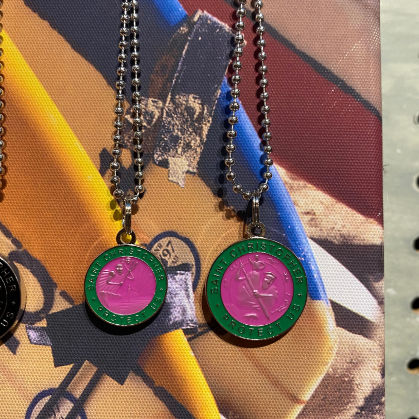 St. Christopher St. Christopher Surfer Protection Necklace