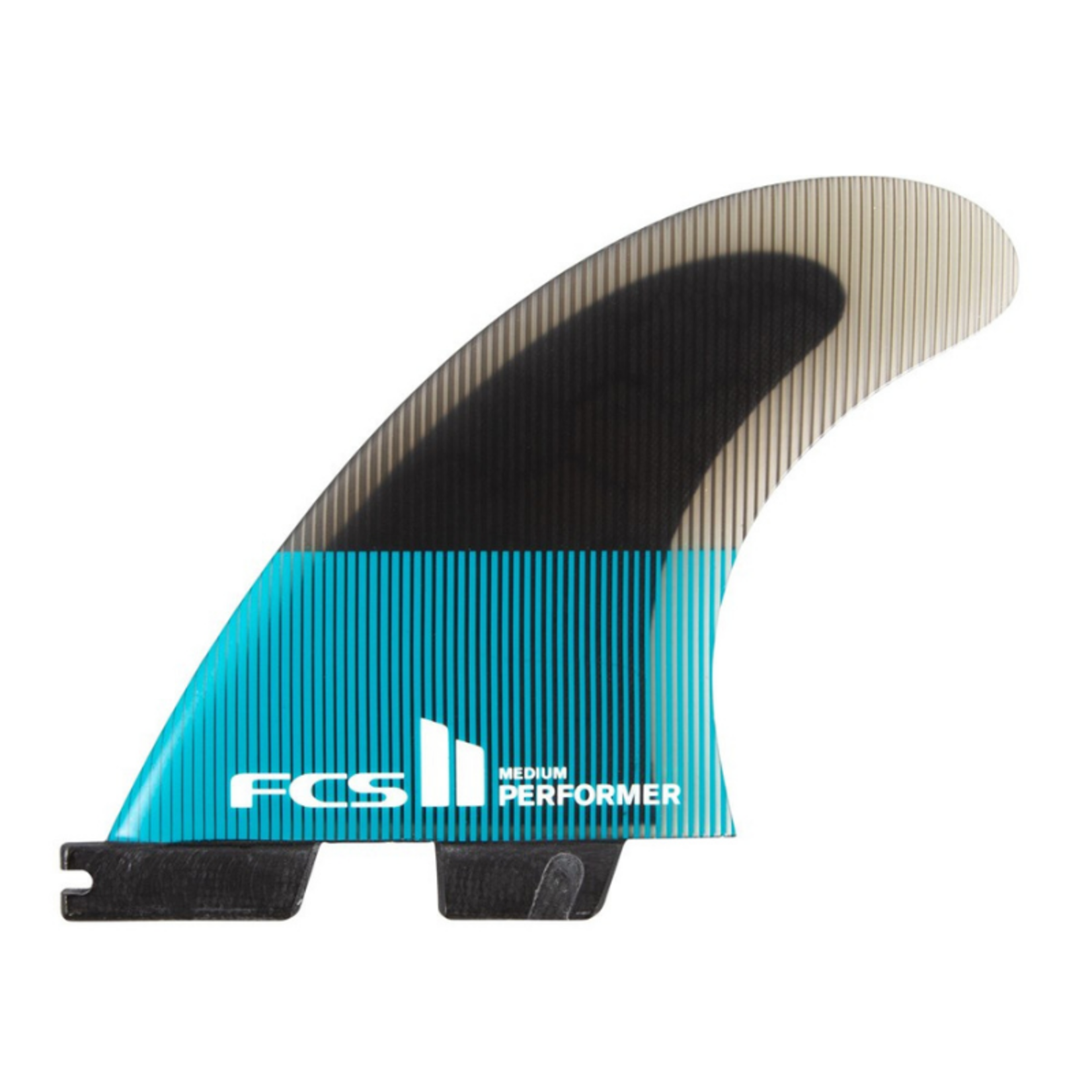 FCS II FCSII Performer PC Teal/Black Tri Fins
