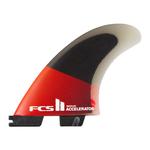 FCS II FCS Accelerator PC Red/black Tri Fins