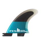 FCS II FCSII Performer PC Teal/Black Quad Set