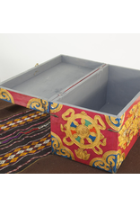 dZi One of a kind- Hand Painted Chest
