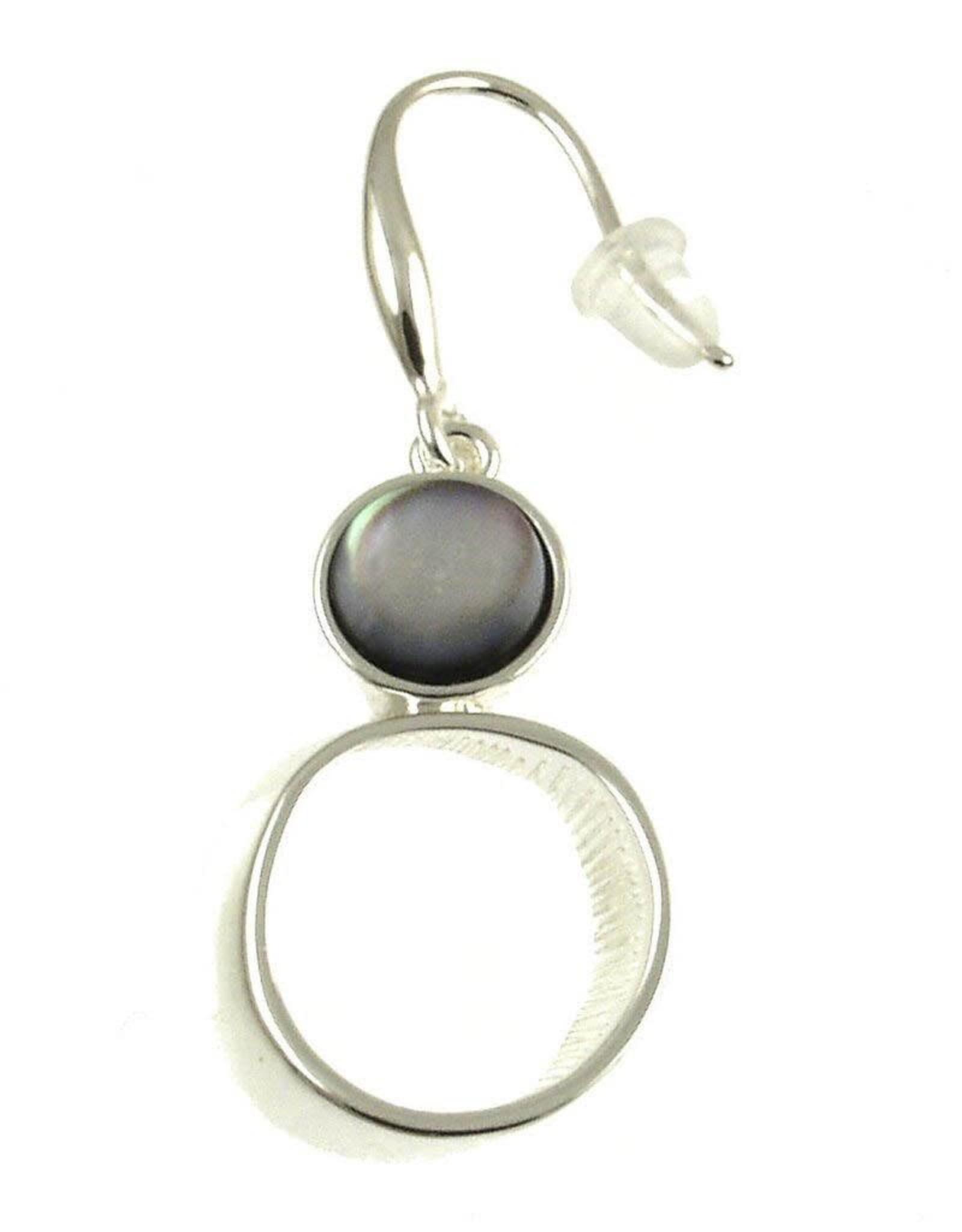 ORIGIN Black Shell Earrings