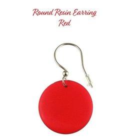 ORIGIN Round Resin Earring